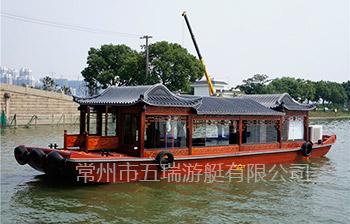 14米画舫仿古船