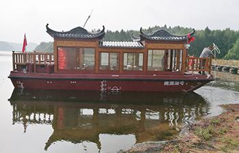 9.8米电动画舫船